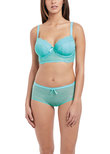 Freya Fancies Longline Bra Aquamarine