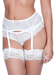 Freya Fancies Suspender White