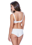 Hero Side Support Bra White