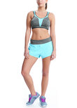 Force Crop Top Sports Bra Carbon
