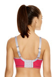 Sonic Moulded Sports Bra Hot Crimson