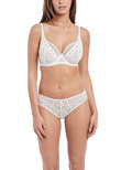 Soiree Lace High Apex Bra White