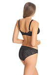 Soiree Lace Brief Black