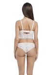 Soiree Lace String White