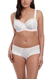 Daisy Lace Balconette-BH White