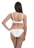 Daisy Lace Brief White