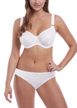 Starlight Side Support Bra White