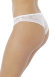 Love Note Thong White