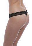 Unchained Thong Black