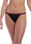 Wild Thong Black Zebra