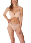 Expression Moulded Bra Natural Beige