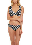 Totally Check Classic Bikini Brief Monochrome