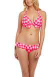 Totally Check Low Coverage Bikini Brief Tropical Punch