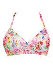 Endless Summer Triangle Bikini Top Confetti