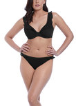 Bohemia High Apex Bikini Top Black