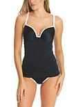 Back To Black Tankini avec armatures Black
