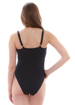 Deco Swim Underwire Swimsuit Black