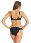 Macrame Low Coverage Bikini Brief Black