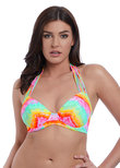 High Tide Neckholder Bikinitop Sunset