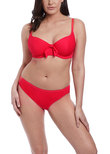 Nouveau Sweetheart Bikini Top Red
