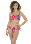 Bali Bay Crop Bikini Top Summer Multi