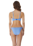 Beach Hut Bandeau Bikini Top Blue Moon
