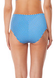 Beach Hut Hoch taillierte Bikinihose Blue Moon