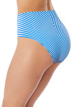 Beach Hut High Coverage Bikini Brief Blue Moon
