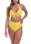 Beach Hut High Coverage Bikini Brief California