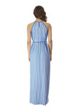 Beach Hut Dress Blue Moon