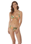 Birds In Paradise Sweetheart Bikini Top Cantaloupe