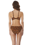 Roar Instinct Sweetheart Bikini Top Leopard