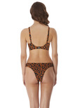 Roar Instinct Moulded Bikini Top Leopard