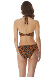 Roar Instinct Underwire Swimsuit Leopard