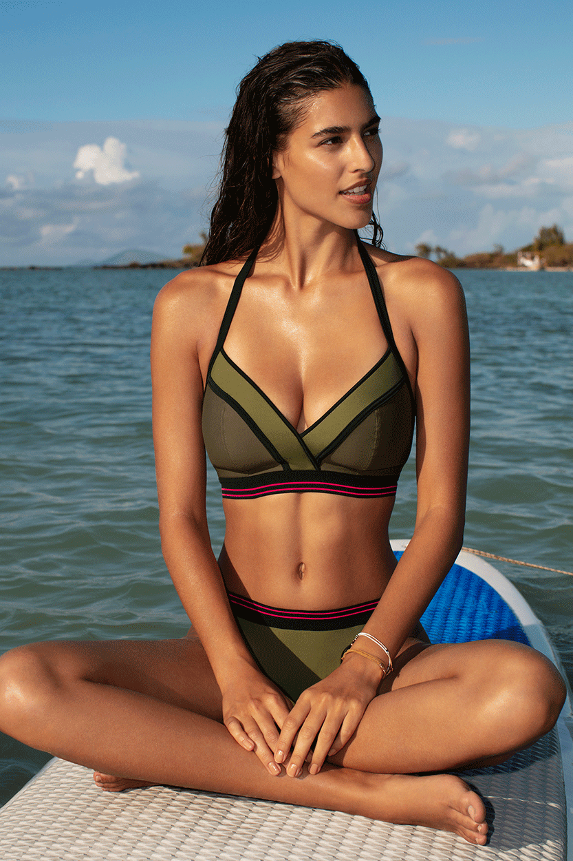 Freya Swimwear, Club Envy Plunge Swimsuit